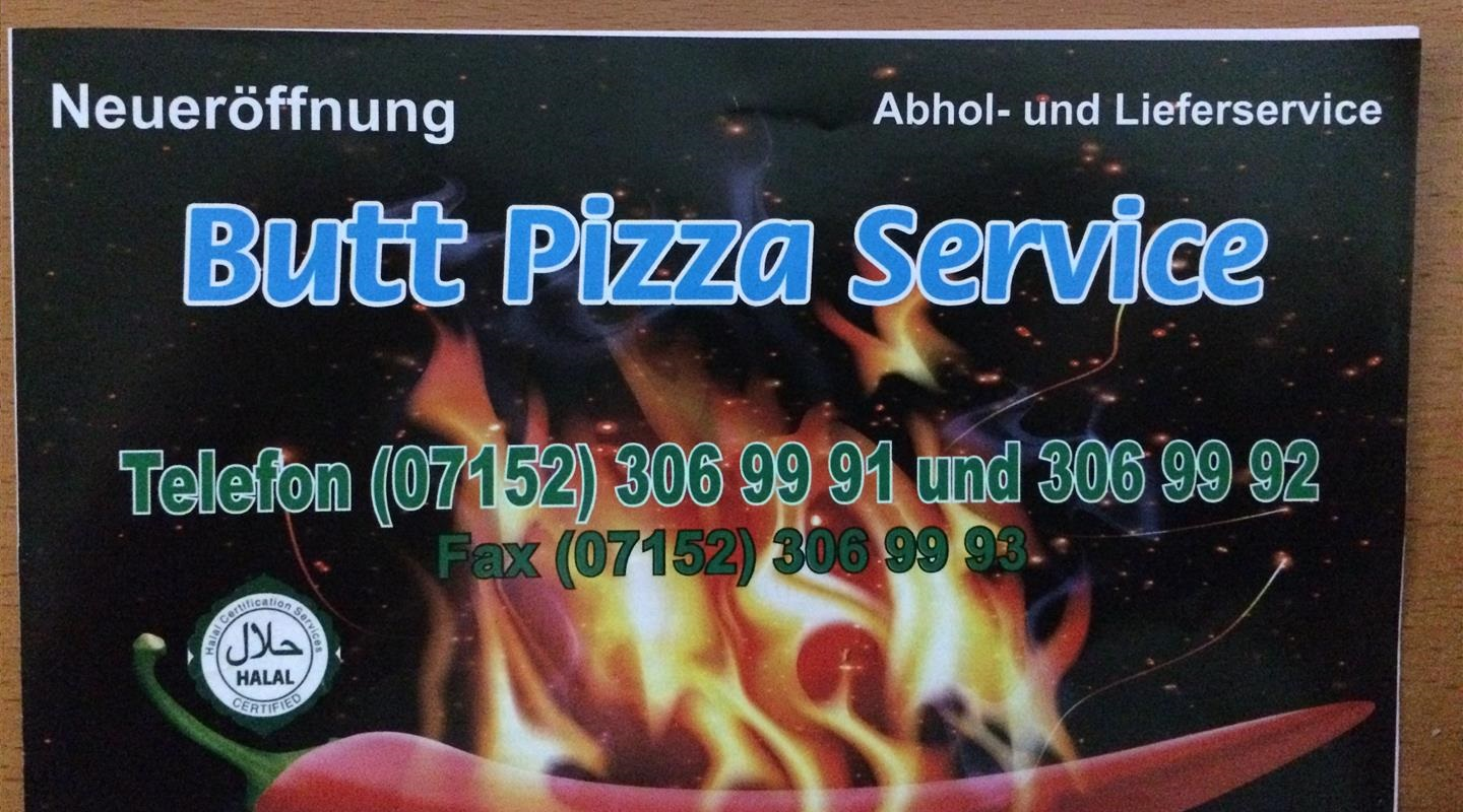 Butt Pizza Service